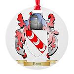 Rynn Round Ornament