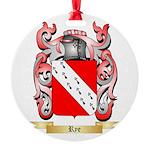Rye Round Ornament