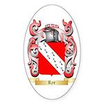 Rye Sticker (Oval 10 pk)