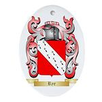 Rye Oval Ornament