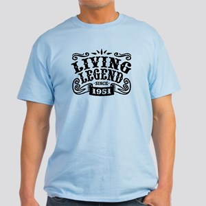 Living Legend Since 1951 Light T-Shirt