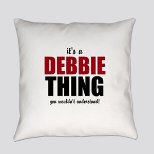 Its a Debbie thing Everyday Pillow
