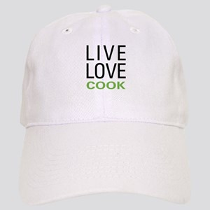 Live Love Cook Cap