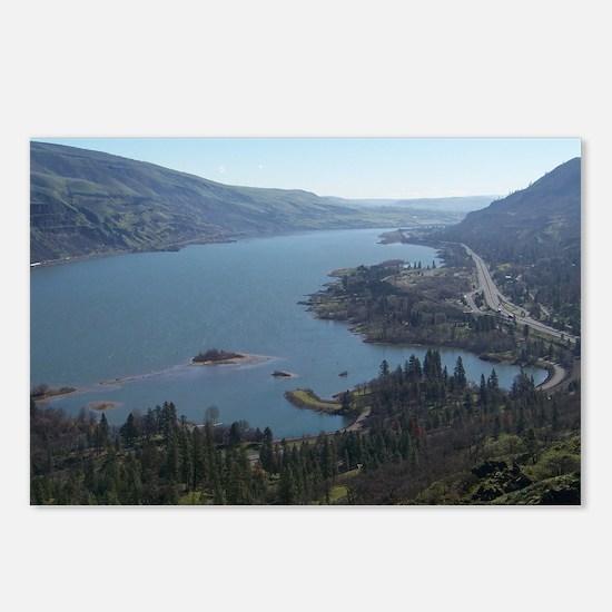 Unique Hood river oregon Postcards (Package of 8)