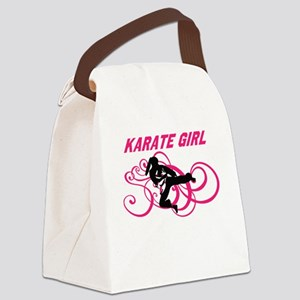 Karate Canvas Lunch Bag