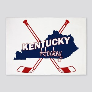 Kentucky Hockey 5'x7'Area Rug