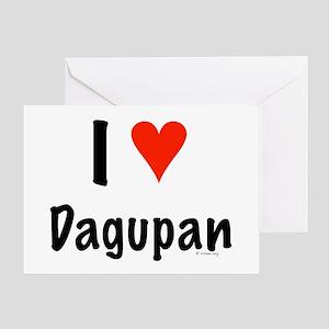 I love Dagupan Greeting Card