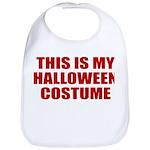 This is My Halloween Costume Bib