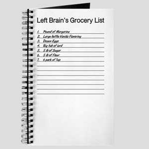 I'm With Left Brain Journal