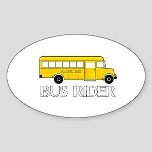 BUS RIDER Sticker