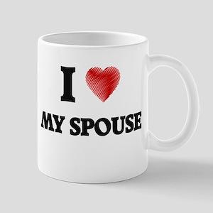 I love My Spouse Mugs