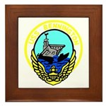 USS Bennington (CV 20) Framed Tile