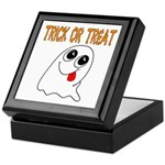 Trick or Treat Ghost Keepsake Box