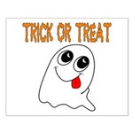 Trick or Treat Ghost Small Poster
