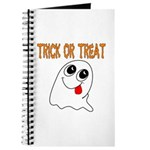 Trick or Treat Ghost Journal