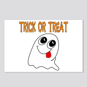 Trick or Treat Ghost Postcards (Package of 8)
