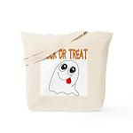 Trick or Treat Ghost Tote Bag