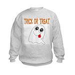 Trick or Treat Ghost Kids Sweatshirt