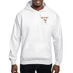 Trick or Treat Ghost Hooded Sweatshirt