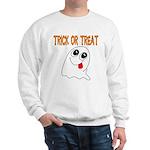 Trick or Treat Ghost Sweatshirt