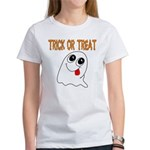 Trick or Treat Ghost Women's T-Shirt