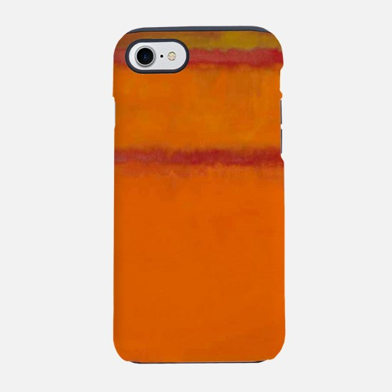 ROTHKO IN RED ORANGE iPhone 8/7 Tough Case