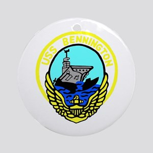 USS Bennington (CV 20) Ornament (Round)