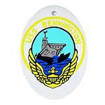 USS Bennington (CV 20) Oval Ornament