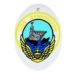 USS Bennington (CV 20) Oval Ornament