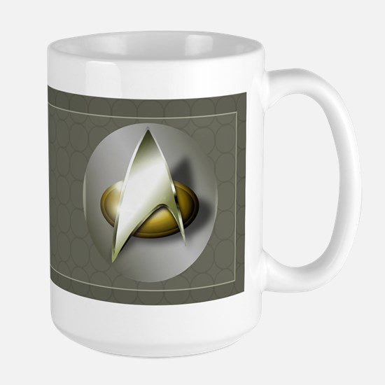 Custom Star Trek Coffee Mug Mugs