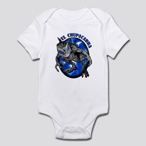 Chupacabra with Background 8 Infant Bodysuit
