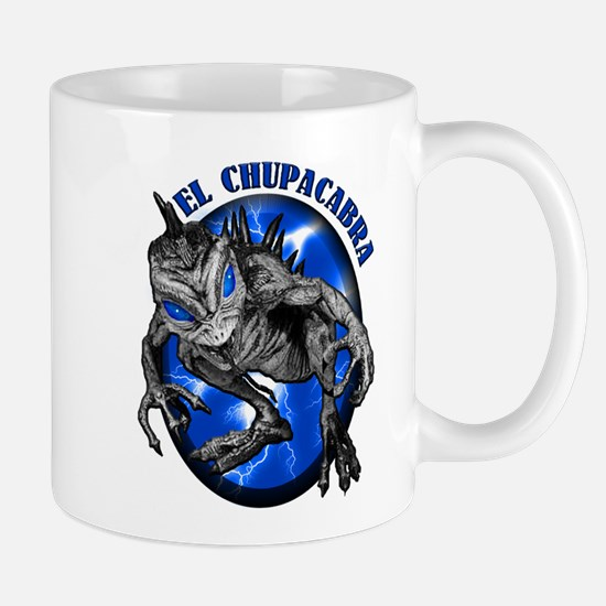 Chupacabra with Background 8 Mug