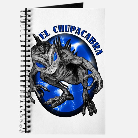 Chupacabra with Background 8 Journal