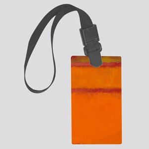 ROTHKO IN RED ORANGE Luggage Tag