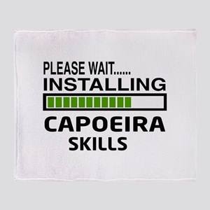 Please wait, Installing Capoeira Ski Throw Blanket