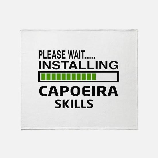 Please wait, Installing Capoeira Ski Throw Blanket
