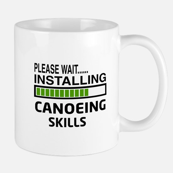 Please wait, Installing Canoeing Skills Mug