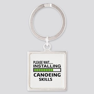 Please wait, Installing Canoeing S Square Keychain
