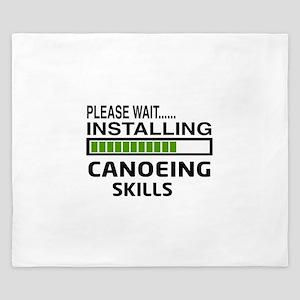 Please wait, Installing Canoeing Skills King Duvet