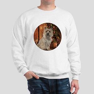 Cairn Terrier Christmas Hoodie Sweatshirt