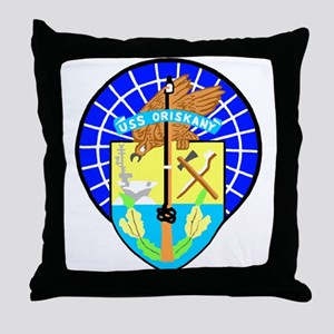 USS Oriskany (CV 34) Throw Pillow