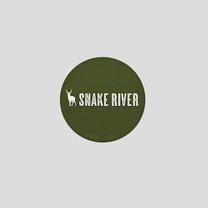 Deer: Snake River Mini Button
