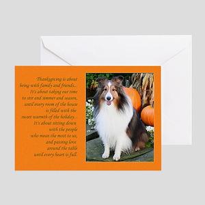 Heartfelt Thanksgiving Card