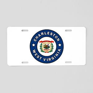 Charleston West Virginia Aluminum License Plate