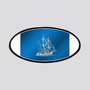 ship in blue Patch