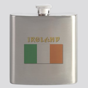 Flag of Ireland w Txt Flask