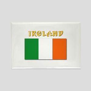 Flag of Ireland w Txt Rectangle Magnet