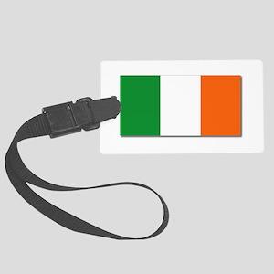 Flag Of Ireland Wo Txt Large Luggage Tag