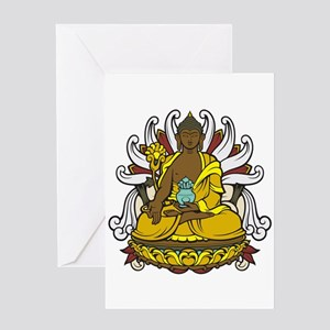 Medicine Buddha Greeting Cards