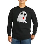 Ghost Long Sleeve Dark T-Shirt